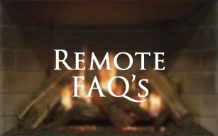 Fireplace Remote Control FAQs